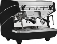 Кофемашина-автомат традиционная с 2 высокими группами Appia II 2gr V 220V black high groupsNUOVA SIMONELLI
